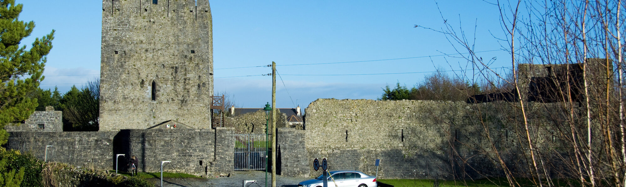 Athenry Castle - Conor Lawless - cc