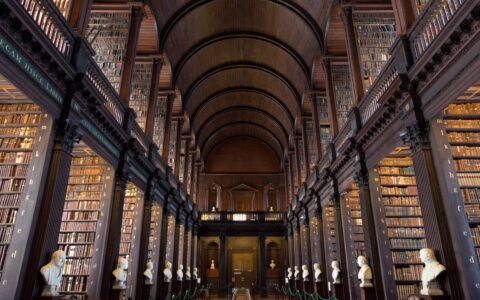 La Old Library de Trinity College
