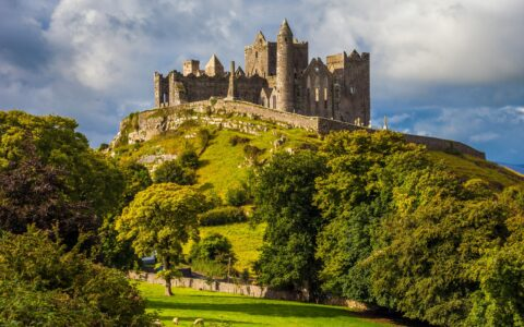 Le Rock of Cashel de nuit - Christopher Hill