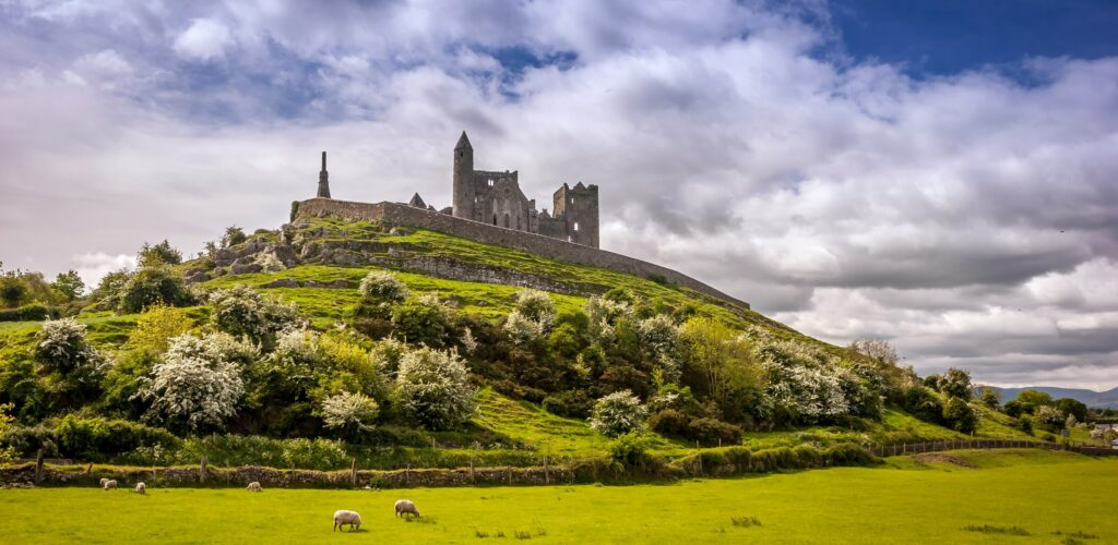 Vue sur le Rock of Cashel - Tourism Ireland
