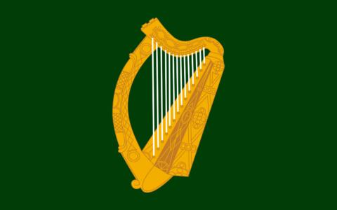 Drapeau du Leinster - Domaine public