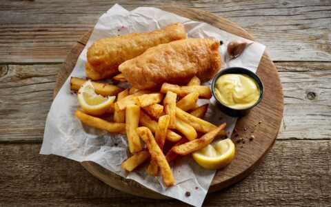 Un fish and chips - Guide Irlande.com