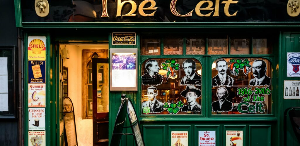 Irish Pub The Celt à Dublin