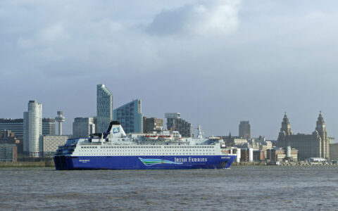 Un bateau d'Irish Ferries - Andrew - cc