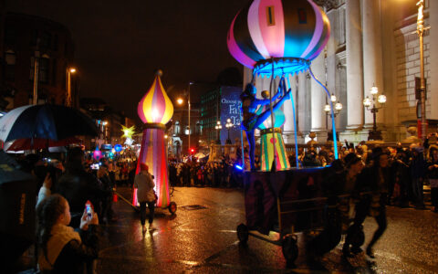 Le Procession of Light de Dublin - ANSELM PALLÀS - cc