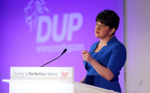 Arlene Foster - DUP Photos