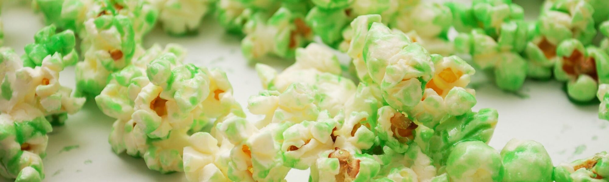 Du pop corn de la Saint Patrick