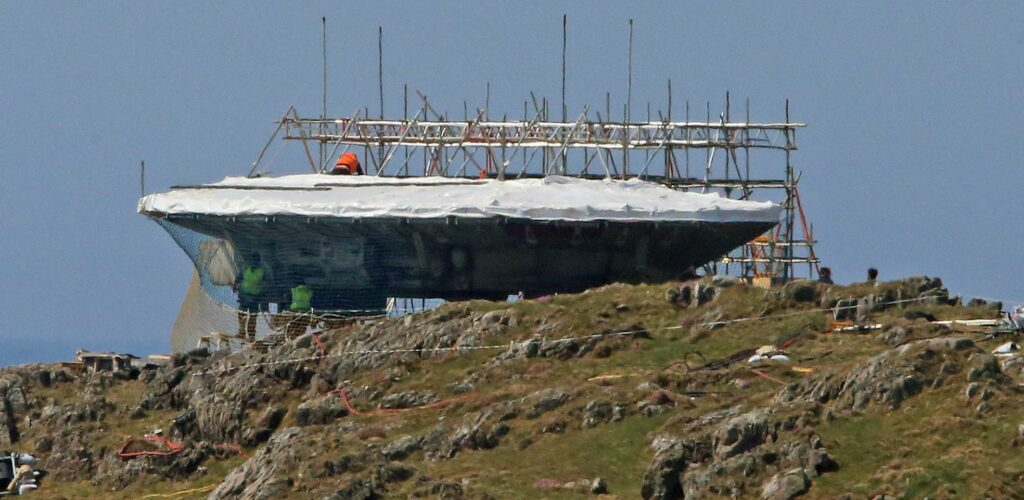 Le Faucon Millénium de Star Wars à Malin Head
