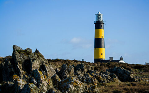 Le St John's Lighthouse de Killough - Philip McErlean - cc