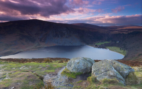 Le Sally Gap et le lac du Lough Tay - John Smyth - cc