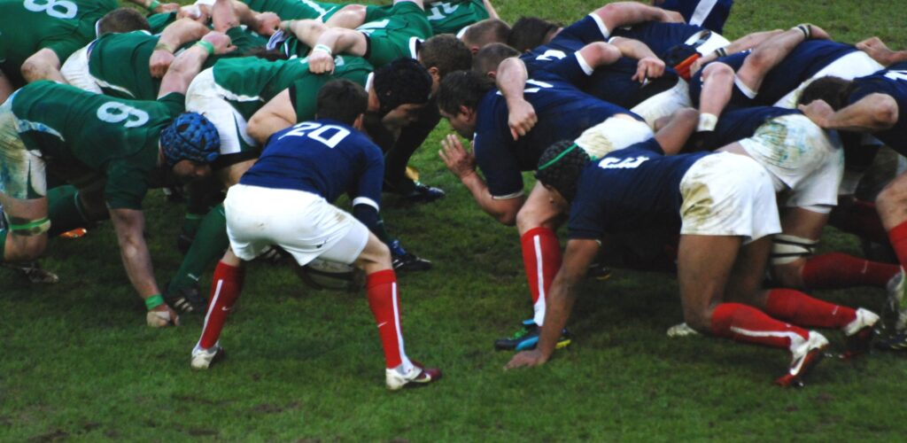 Un match France-Irlande lors du Tournoi des 6 nations - M+MD - cc
