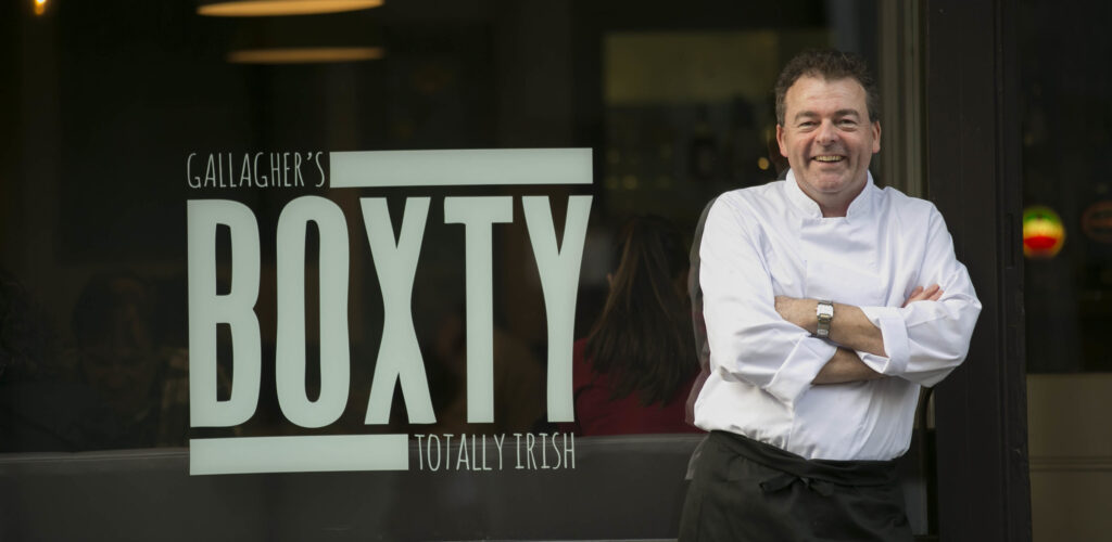 Patrick Gallagher, gérant du Boxty House - http://boxtyhouse.ie