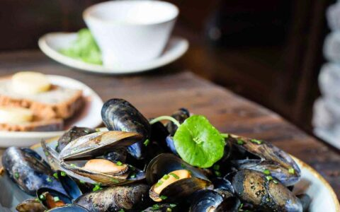 Des moules servies au John Keogh's Pub