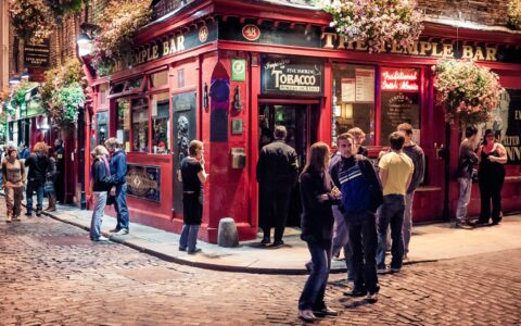 Temple Bar à Dublin - daspunkt