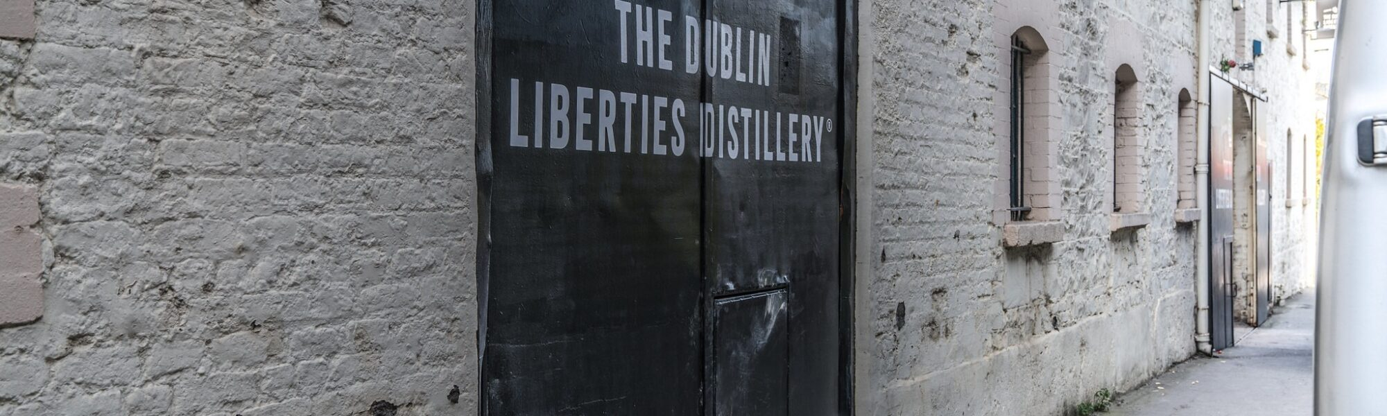 Entrée de la Dublin Liberties Distillery - William Murphy - cc