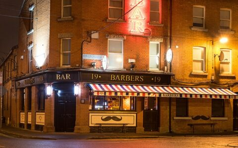 The Barbers irish pub à Dublin