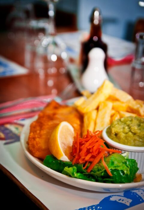 Un fish and chips du McDonagh's à Galway