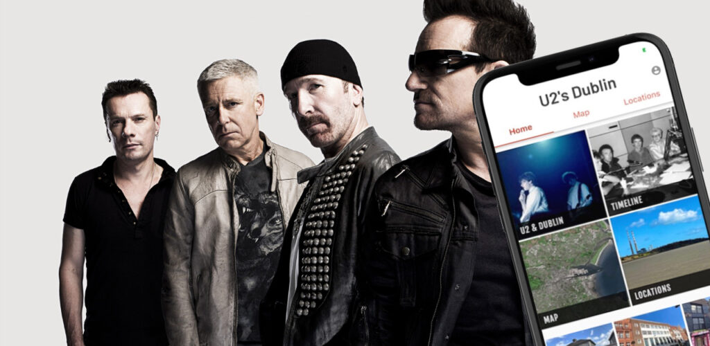 L'application U2'S Dublin vient de sortir - Guide Irlande.com