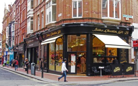 Le Butlers Chocolate Café, Wicklow Street